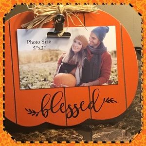 🎃New🎃Pumpkin Clip Photo Holder🎃
